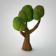 Low-poly Tree