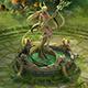 Fairy town - pure goddess statue