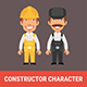 Constructor Character Builder and Repairman