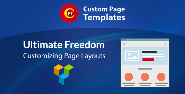 Custom Page Templates: New Way of Creating Custom Templates in WordPress (Utilities) images