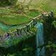 Fairy town - fence