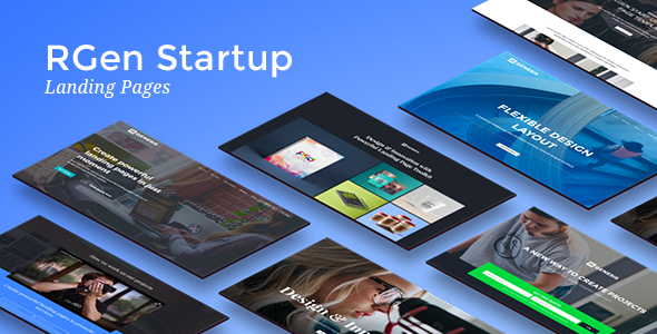 RGen Startup Landing Pages
