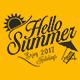 Summer & Fitness  Badges and Sticker - Bundle