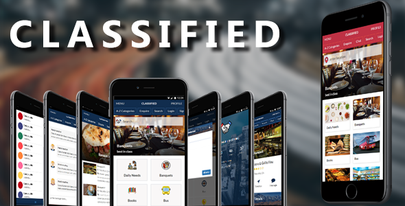 Classified mobile and tablet responsive bootstrap template (for classified listing)