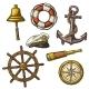 Sea Icons Set