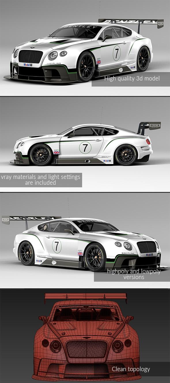 Bentley Continental GT3 2014