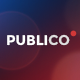Publico - Modern Magazine PSD Theme