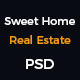 Sweet Home Real Estate-PSD Template