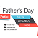 Fathers Day Sale Facebook Covers