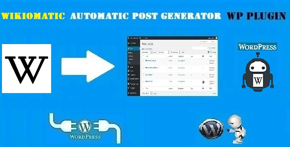 Wikiomatic – Automatic Post Generator Plugin for WordPress
