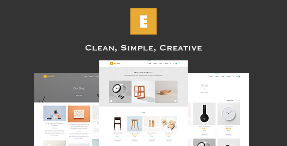 Easy Shop - WooCommerce WordPress Theme
