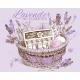 Lavender Cosmetic Basket