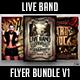Live Band Flyer Bundle V1