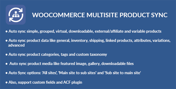 WooCommerce Multisite Product Sync (WooCommerce) images