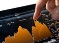 Touching Stock Market Chart - PhotoDune Item for Sale