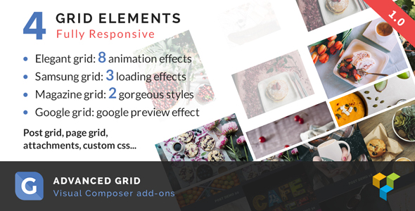 CodeCanyon Advanced Grid Visual Composer add-on 20139696
