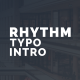 Download Rhythm Typo Intro from VideHive
