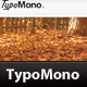 TypoMono - Clean HTML Template - ThemeForest Item for Sale