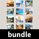 3 Wall Calendars 2018 Bundle
