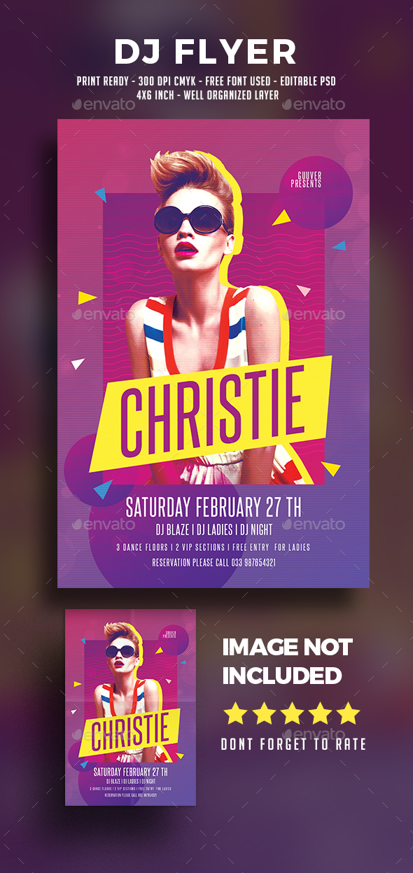 Club Party Flyer Templates from GraphicRiver – Club Flyer Maker