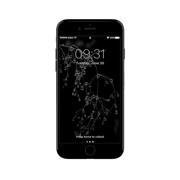 3DOcean iPhone 7 Shiny Black 20145460