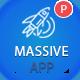 Massive APP Landing Page PSD Template