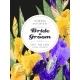 Wedding Invitation with Iris Flowers