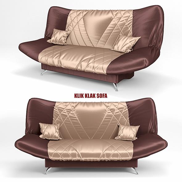 3DOcean sofa KLIK KLAK 2 20146138