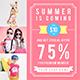 Promogram Vol.04 - Summer Instagram Promotion Template
