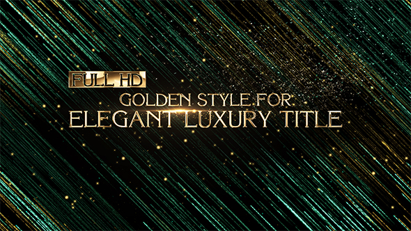 Videohive Elegant Luxury Title  Corporate 20146582