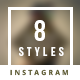 Promogram Vol.10 - New Arrivals Instagram Promotion Template