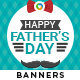 Fathers Day Banners - Image Included