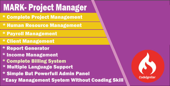 MARK – Project Manager (Project Management Tools) images