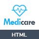 MediCare – Responsive Medical Health Template (Health & Beauty)