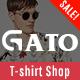 Gato - Tshirt Shop Responsive Prestashop 1.7 Theme