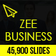 Zee Business Keynote Template
