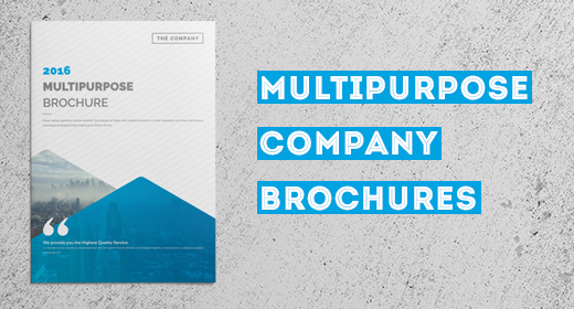 Multipurpose Company Brochures