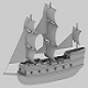 Low_poly ship