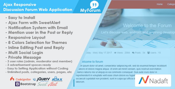 MyForum – Ajax Responsive Discussion Forum (Help and Support Tools) images
