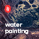 Water Marbling Painting Backgrounds