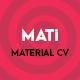MATi | Material CV/Resume