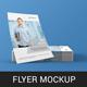Photorealistic Flyer Mockup Pack