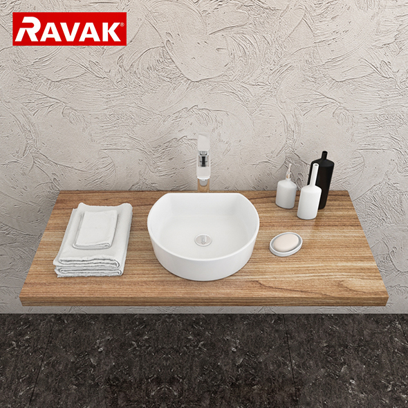 3DOcean washbasin Ravak Moon 1C 20151365