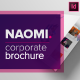 Naomi Clean Modern Corporate Brochure Template