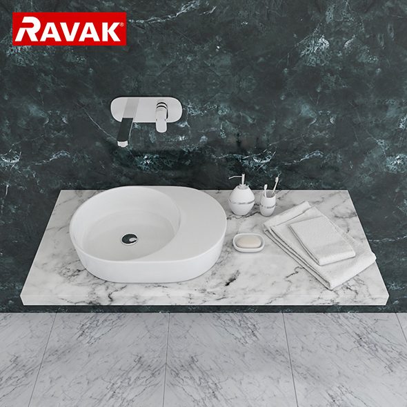 3DOcean washbasin Ravak Moon 2S 20151442
