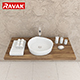 washbasin Ravak Moon 3