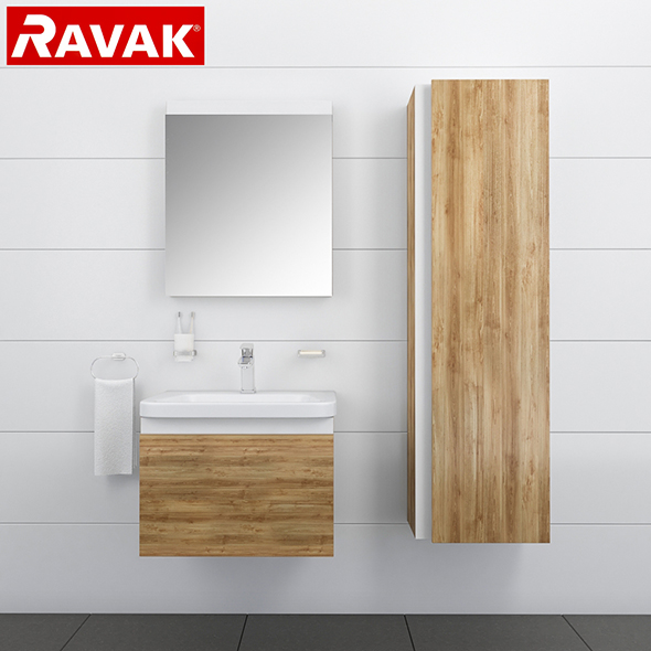 3DOcean Bathroom furniture RAVAK 10 20151473