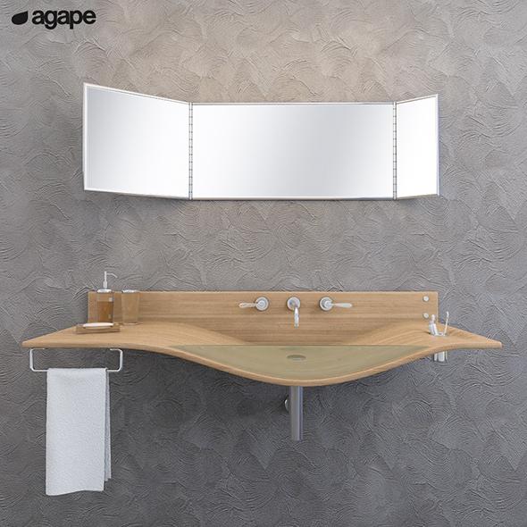 3DOcean washbasin Agape Gabbiano 20151552