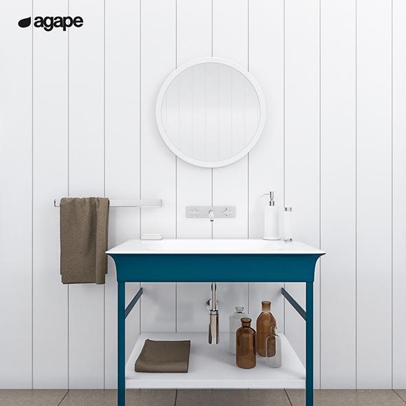 3DOcean washbasin Agape Novecento XL 20151579