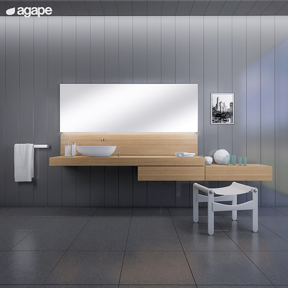 3DOcean washbasin Agape DROP 20151750